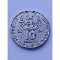 Мавритания 10 угий 2004