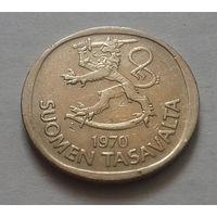 1 марка, Финляндия 1970, 1975 г., S