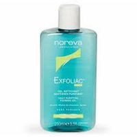 Мягкий очищающий гель для проблемной кожи Noreva Exfoliac