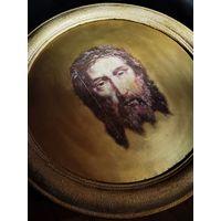 """Икона """"Иисус Христос"""". Деревянная рама, репродукция на дереве, всё полностью ручная работа!!!"""