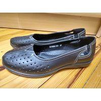 Новые туфли р.37 (нат.кожа)