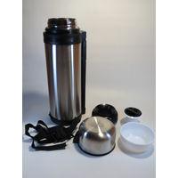 Термос вакуумный с широким горлом 1,8 литра