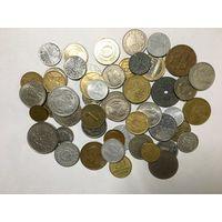 Сборный лот #1.3 - 50 монет, все разные, без СССР и СНГ