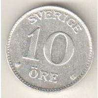 Швеция 10 эре 1938