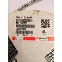 ДИОД M7 DO-214AC ( цена 40 штук за 2 р ) SMA4007 (M7), Диод 1А 1000В [SMA / DO-214AC] 1N4007 SMD 1A 1000 В IN4007 Диод Выпрямителя ТОКА