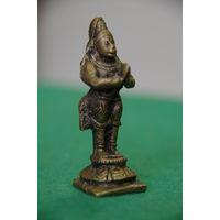 Статуэтка (фигурка , латунь 6,5 см )  Король обезьян .