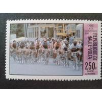 Верхняя Вольта 1980 Олимпиада в Москве, велогонка