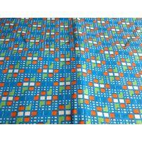 Отрезок ткани ситец  (винтаж) 0,92х1,46