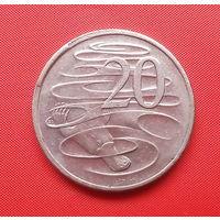 68-16 Австралия, 20 центов 2001 г.