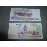 БАНГЛАДЕШ-2001 ГОД- 100 ТАКА- UNC- ПРЕСС