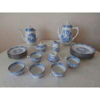 Сервиз чайный / кофейный qualitats porzellan (высококачественный фарфор) 6 персон 22 предмета Seltmann Weiden Bavaria Германия.