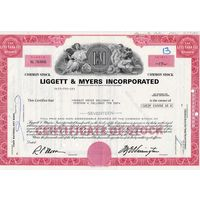 Liggett & Myers Incorporated, США