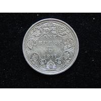 Индия 1 рупия 1877 г