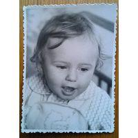 Фото ребенка. 1950-60-е. 8х11 см.
