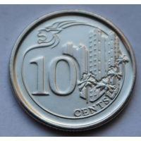 Сингапур, 10 центов 2013 г.