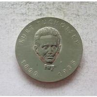 Германия - ГДР 5 марок 1990 100 лет со дня рождения Курта Тухольского