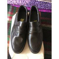 Туфли осенние мужские 27 натуральная кожа СССР старые запасы НОВЫЕ