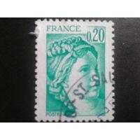Франция 1978 стандарт 0,20