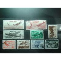 1945 Боевые самолеты Полная серия с клеем