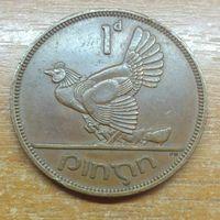 Ирландия 1 пенни 1965 (1)
