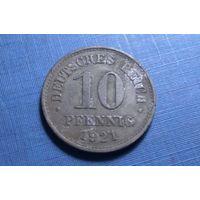 10 пфеннигов 1921. Германия.