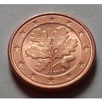 1 евроцент, Германия 2004 J