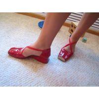 Оригинальные туфельки р.39
