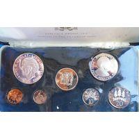 Ямайка, Набор монет 1972г.