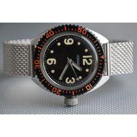 """Часы """"Ракета"""" Амфибия 2609 НА, 200 м., СССР, сталь, браслет, обслужены"""