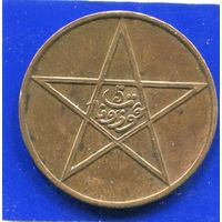 Марокко 5 мазун 1912 ( 1330 )