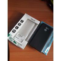 Два новых силиконовых чехла(черный и прозрачный) для Xiaomi Redmi