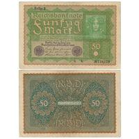 Германия. 50 марок 1919 г. [P.66]
