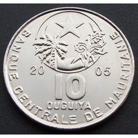 Мавритания. 10 угий 2005 год KM#4а