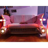 Коллекционный дизайнерский Диван машина Элвиса Прэсли Yab Design Fun Furniture Pink Cadillac