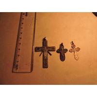 3 крестика
