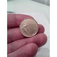 2 толара 1997 год. Словения.