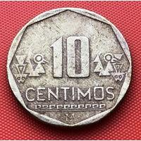 125-19 Перу, 10 сентимо 2002 г.