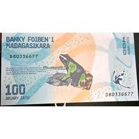 Мадагаскар 100 ариари 2017, unc
