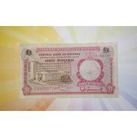 Нигерия 1 фунт 1967г.