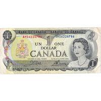 Канада, 1 доллар, 1973 г.