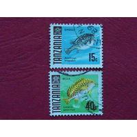 Танзания 1968г. Рыбы.