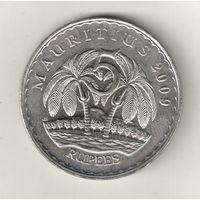Маврикий 5 рупия 2009