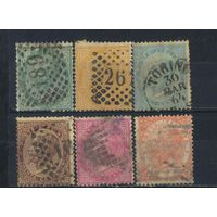 Италия Кор 1863 Виктор Эммануил II #16-20,22