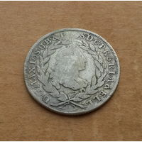 Бавария, 20 крейцеров 1766 г., серебро, Максимилиан III Иосиф (1745-1777)