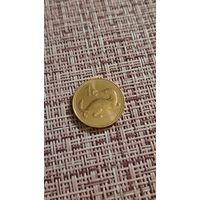Мальта 1 цент 2001 г ( фауна , хорёк )
