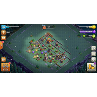Аккаунт clash of clans 10тх