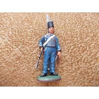 Солдат, солдатик  Del Prado, олово.