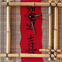 Часы настенные time 2 Go  Бамбук
