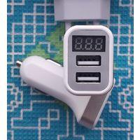Датчик заряда аккумулятора и 2-а USB 2.1. С серебристой окантовкой!