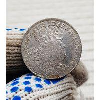 Монета Польша Август III 1754